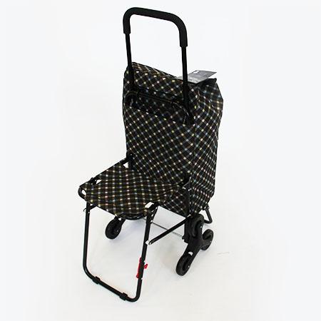 fb9e3cbbdb3c Сумка тележка на 6 колесах со стульчиком Cool: купить в телемагазине ...