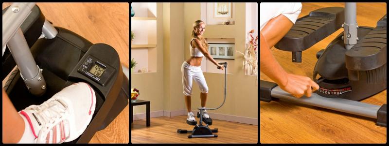 Тренажер для похудения Кардио Твистер: купить в телемагазине Домашний магазин Оренбурга. Тренажер cardio twister - идеален для п